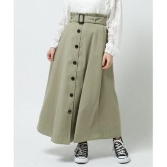 レイカズン(RAY CASSIN)/サンディングピーチ前ボタンスカート