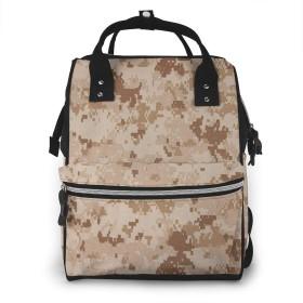 マザーズバッグ リュック 大容量 ポケット付き 多機能 ベビー用品収納 バッグ 通勤 旅行 出産準備 出産祝いなど用 迷彩12