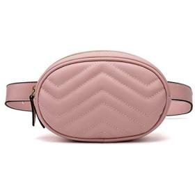 Huanglian 2019新しい到着の女性の財布の新しいファッションの財布PUメッセンジャーバッグヨーロッパやアメリカのファッションバッグ (色 : PINK)