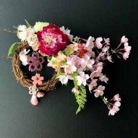 桜のガーランド リース