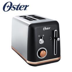 美國Oster-紐約都會經典厚片烤麵包機(霧面黑)