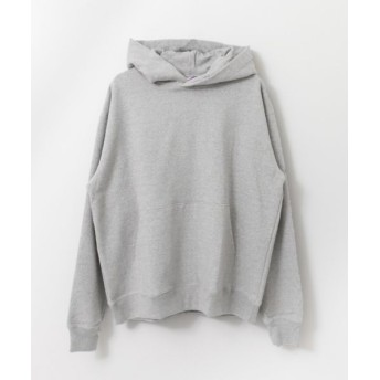 URBAN RESEARCH/アーバンリサーチ Taeyoung Boy×URBAN RESEARCH iD The C ロゴプリントパーカー GRAY FREE