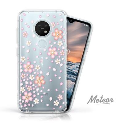 Meteor Nokia 7.2 奧地利水鑽殼 - 櫻花