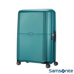 Samsonite新秀麗 25吋Orfeo 簡約方正線條PC嵌入式TSA海關鎖行李箱(湖水藍)-CC4*21002
