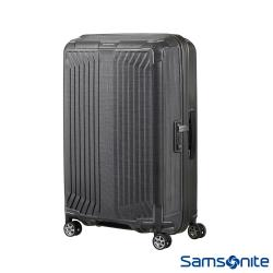 Samsonite新秀麗 25吋Lite-Box耐衝擊Curv垂直線條行李箱(碳灰)-42N*28002