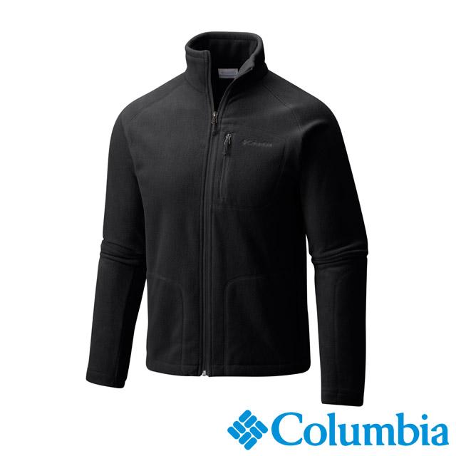 Columbia哥倫比亞 男款-刷毛外套-黑色 UAE30390BK