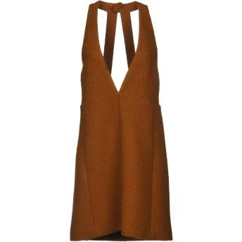 《セール開催中》CHLO レディース ミニワンピース&ドレス ブラウン 34 バージンウール 100%
