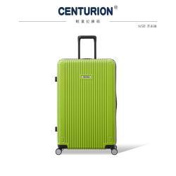 CENTURION 百夫長 經典拉鍊系列27吋行李箱-WSB芥末綠