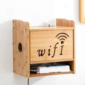 Dongshop ボックスホルダーを仕上げストレージソケット用ケーブルボックスシェルフ/充電オーガナイザーラックTVセットトップルータ無線LAN用スタンド