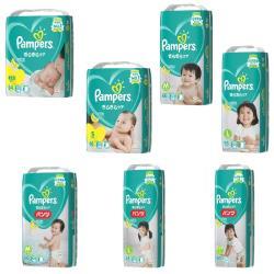 Pampers幫寶適尿布 日本境內綠幫彩盒版NB/S/M/L/XL(黏貼/褲型箱購)
