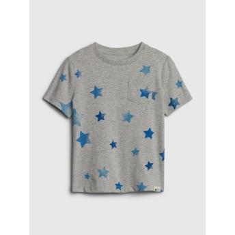 Gap プリントポケットTシャツ (幼児)