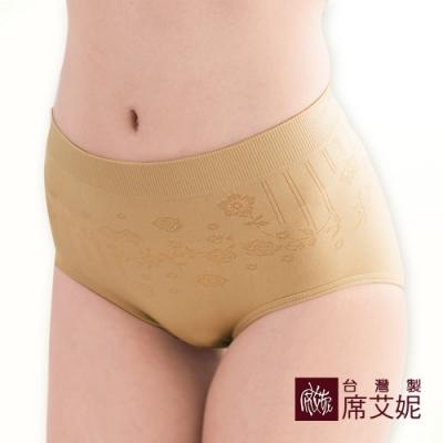 席艾妮SHIANEY 台灣製造(5件組)中大尺碼超彈力內褲緹花織紋
