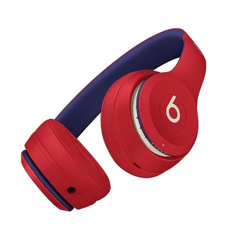 Beats Solo3 Wireless 無線藍牙頭戴式耳機 學院紅