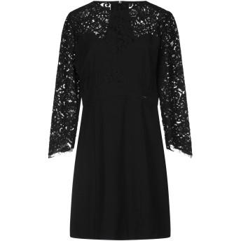 《セール開催中》GUESS レディース ミニワンピース&ドレス ブラック M ポリエステル 100% / コットン / ナイロン / レーヨン