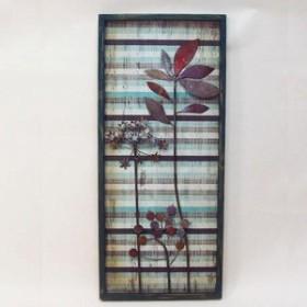 かわ畑 壁掛けや壁飾りに ウォールアートパネル 花 B 1408BAH006