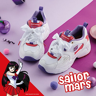 SKECHERS 女  美少女戰士聯名 火星仙子 - 66666267WPR