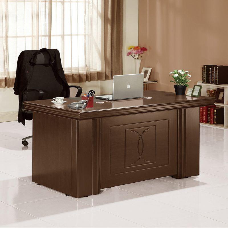 【GA668-4】高泉胡桃5尺辦公桌(全組)