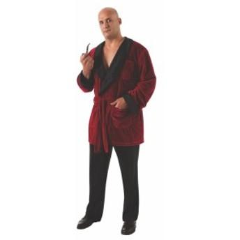 プレイボーイ コスチューム プラス サイズ ヒュー ヘフナー SMOKING ジャケット ウイズ ベルト アンド パイプ