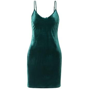 《セール開催中》SOLID & STRIPED レディース ミニワンピース&ドレス ディープジェード XS ポリエステル 100%