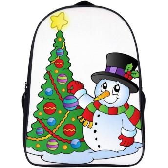 A Christmas Tree Festive Celebration リュックバックパック ビジネスリュック 男女兼用 大容量 15.6インチパソコン対応 防水 耐久強化 中学生 高校生 リュックサック おしゃれ 軽量 通学 登山 旅行 学生用リュック