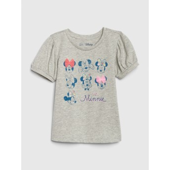 Gap babyGap Disney Minnie Mouse パフスリーブTシャツ