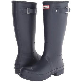 [ハンター] メンズブーツ・靴 Original Tall Rain Boots Navy 9 (27cm) M [並行輸入品]