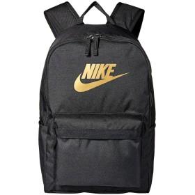 [NIKE(ナイキ)] リュック・バックパック Heritage Backpack 2.0 Black/Black/Metallic Gold OS [並行輸入品]