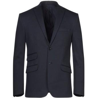 《セール開催中》YES ZEE by ESSENZA メンズ テーラードジャケット ダークブルー 44 コットン 60% / ナイロン 40%