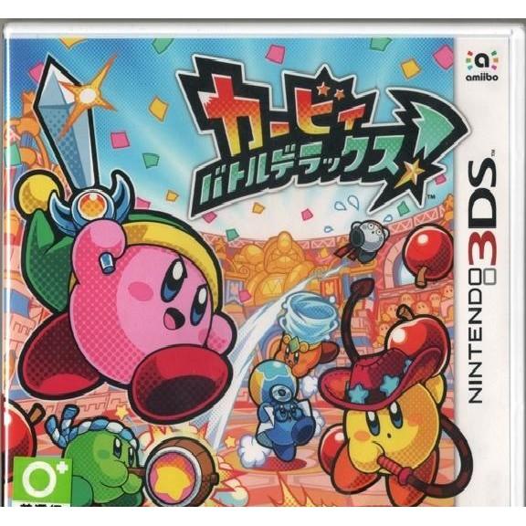 N3DS 3DS 星之卡比 戰鬥豪華版! 純日版 日規機專用 最多四人同遊的熱鬧對戰體驗