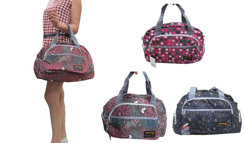 手提肩背可放a4資料夾主袋+外袋共四層防水尼龍布短程旅行大容量附長背帶