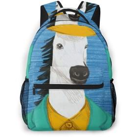 馬 帽子 スーツ リュック リュックサック PCバック ビジネスリュック バックパック メンズ レディース 軽量 大容量 通勤 通学 旅行 高校生 多機能バッグ おしゃれ