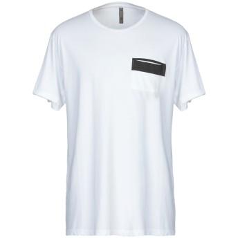 《セール開催中》GIAN CARLO ROSSI メンズ T シャツ ホワイト XL コットン 100%