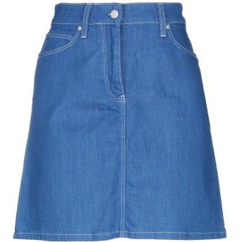 《セール開催中》CALVIN KLEIN レディース デニムスカート ブルー 36 コットン 98% / ポリウレタン 2%