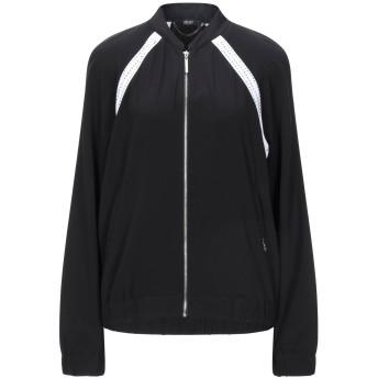《セール開催中》LIU JO レディース スウェットシャツ ブラック M ポリエステル 92% / ポリウレタン 8%