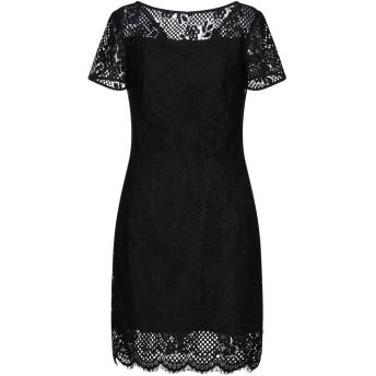 《セール開催中》MOLLY BRACKEN レディース ミニワンピース&ドレス ブラック M ナイロン 89% / コットン 11%