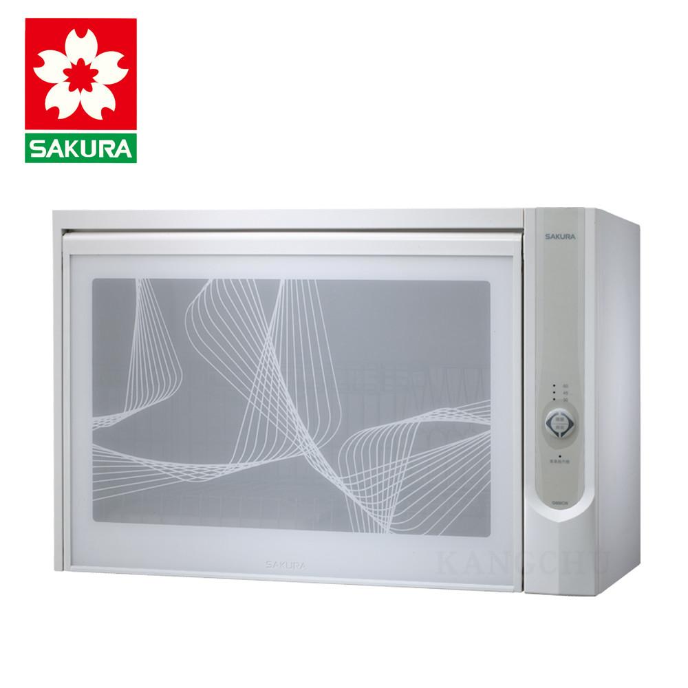 櫻花牌 q600c 三段全自動烘乾小套房用臭氧型懸掛式60cm烘碗機