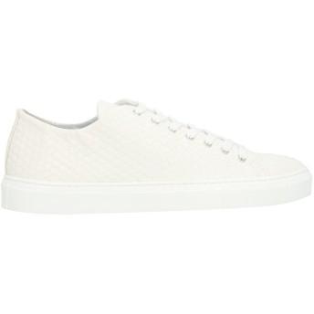 《セール開催中》GREY DANIELE ALESSANDRINI メンズ スニーカー&テニスシューズ(ローカット) ホワイト 40 紡績繊維