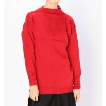 【ビショップ/Bshop】 【Le Tricoteur】トラディショナル ウールガンジーセーター WOMEN