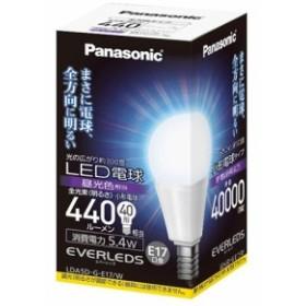 パナソニック LED電球 EVERLEDS (小形電球タイプ 5.4W・E17・小形電球40W相当 440 lm・昼光色相当) LDA5DGE17W