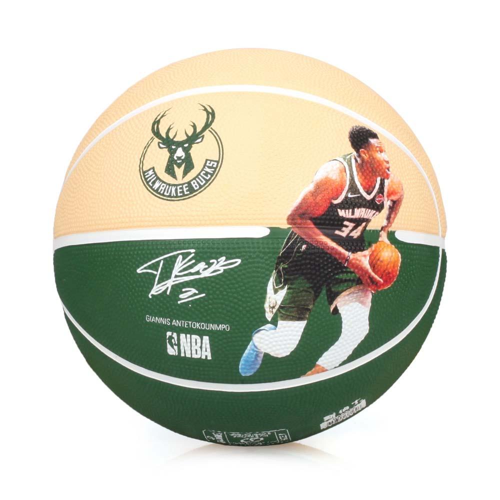 SPALDING ANTETOKOUNMPO 公鹿籃球 #SPA38162-7號球 綠黃 F