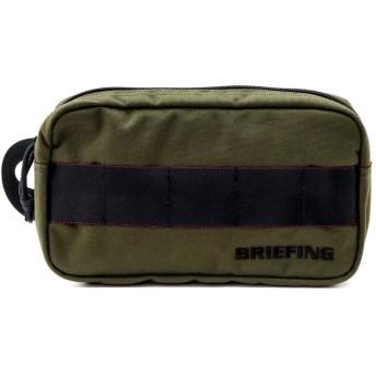 [ブリーフィング] 【公式正規品】SINGLE ZIP POUCH GOLF BRG191A10 BRG191A10-068 RANGER GREEN