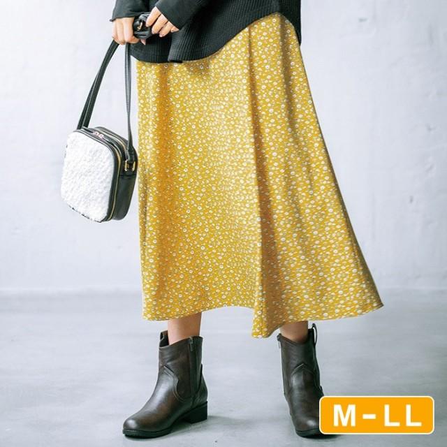 GeeRA 【M~LL】ソフトマーメイドシルエットスカート L レディース 5,000円(税抜)以上購入で送料無料 フレアスカート 春 レディースファッション アパレル 通販 大きいサイズ コーデ 安い おしゃれ お洒落 20代 30代 40代 50代 女性 スカート