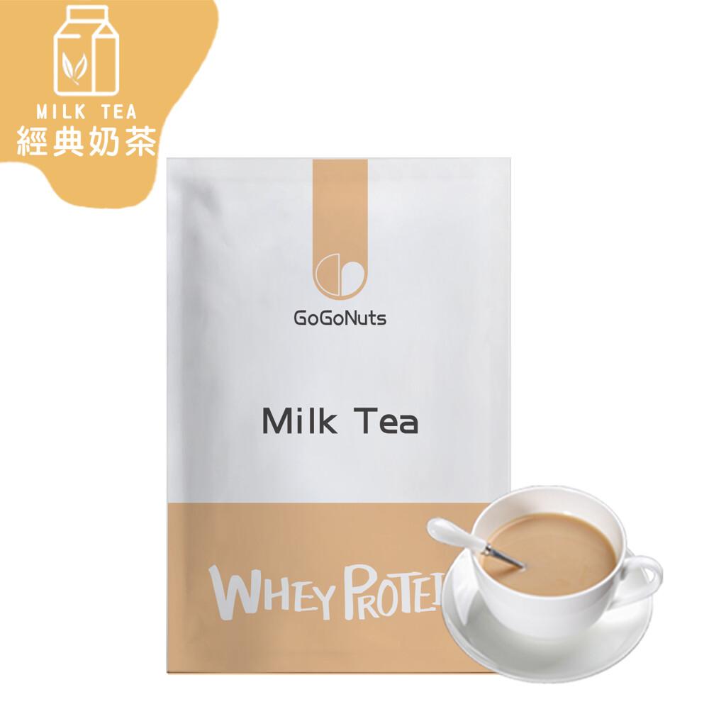 果果堅果乳清蛋白飲-經典奶茶(35g/包) 台灣生產