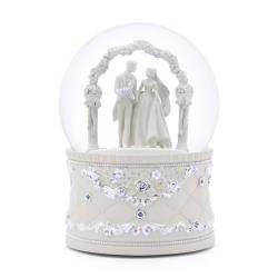 讚爾藝術 JARLL~婚禮殿堂 水晶球音樂盒(WF1809) 愛情婚禮 現代婚禮 (現貨+預購)