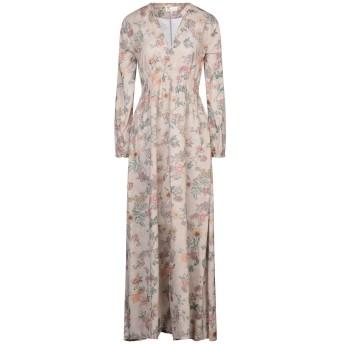 《セール開催中》LOCAL APPAREL レディース ロングワンピース&ドレス ベージュ XS コットン 100%