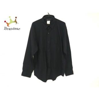 アニエスベー agnes b 長袖シャツ サイズ40 S メンズ 美品 黒 HOMME 新着 20200114