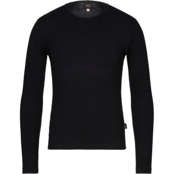 《セール開催中》RIFLE メンズ T シャツ ブラック L コットン 100%