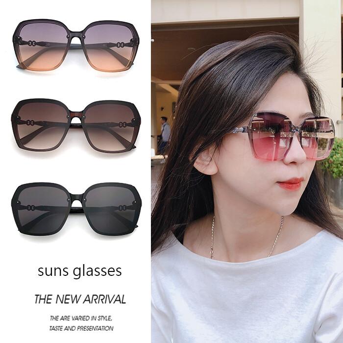 時尚大框墨鏡 韓版太陽眼鏡 顯小臉墨鏡 網紅款太陽眼鏡 抗紫外線uv400