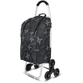 ショッピングカート 6ホイールを取り外し可能なバッグには防水断熱ショッピングトロリー折りたたみショッピングトロリー さまざまな地形に挑戦 (色 : Red, Size : Free size)