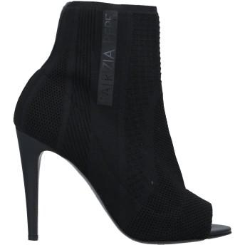 《セール開催中》PATRIZIA PEPE レディース ショートブーツ ブラック 40 革 / 紡績繊維